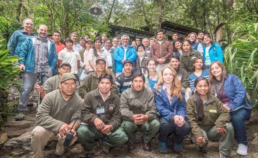 Don Neiffer with INKATERRA scientists and partners